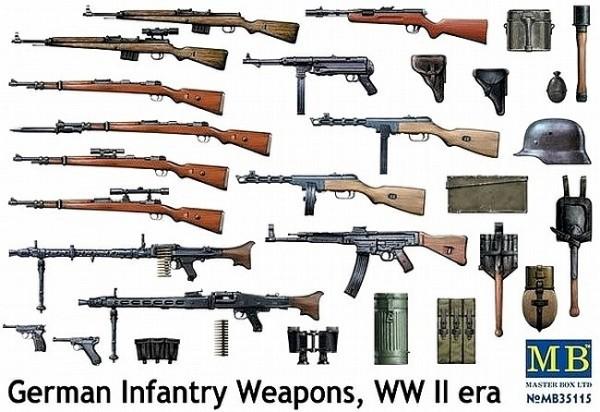 MB35115   German infantry weapons, WW II era (thumb18130)
