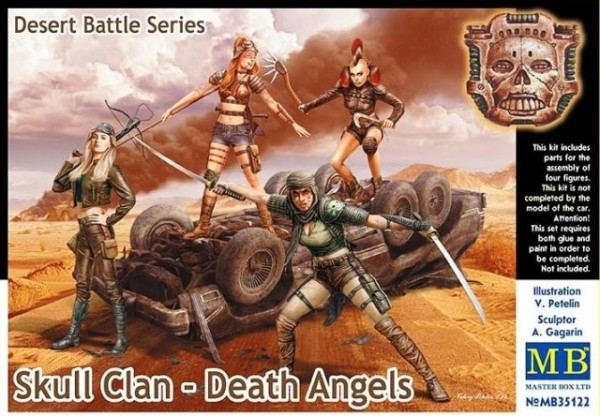 MB35122   Skull Clan - Death Angels, Desert Battle Series (thumb18134)