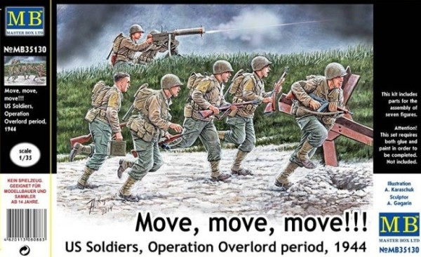 MB35130   U.S. soldiers, Operation Overlord period, 1944 (thumb18136)
