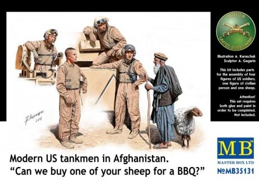 MB35131   Modern U.S. tankmen in Afghanistan. (thumb18138)