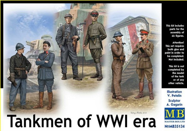 MB35134   WWI tankmen (thumb18140)