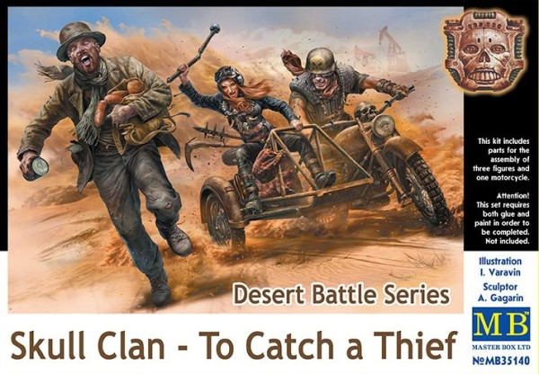 MB35140   Desert Battle Series, Skull Clan - To Catch a Thief (thumb18144)