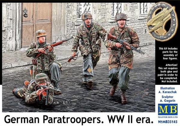 MB35145   German Paratroopers. WWII era (thumb18148)