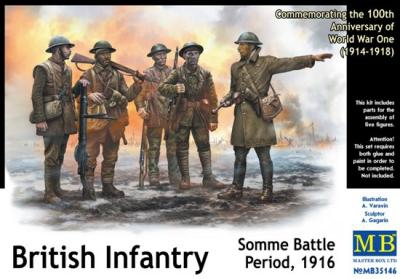 MB35146   British infantry, Somme battle, 1916 (thumb18150)