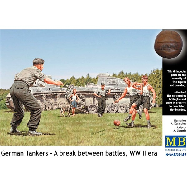 MB35149   German tankmen in the break between combats (thumb18154)