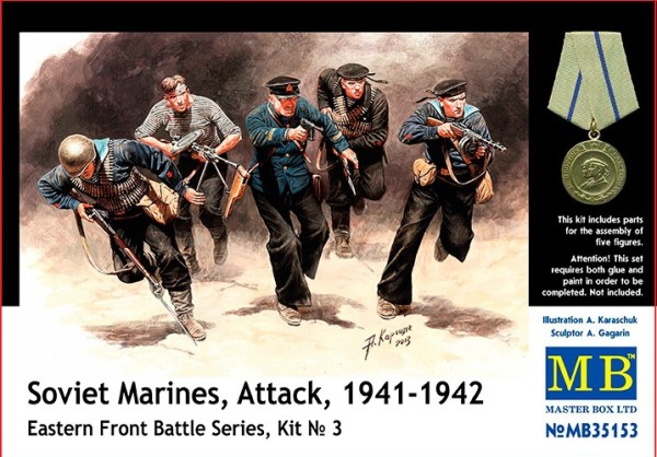 MB35153   Soviet marines, Attack, 1941-1942. Eastern Front, kit 3 (thumb18162)