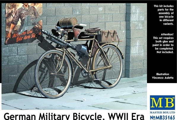 MB35165   German military bicycle, WWII Era (thumb18184)