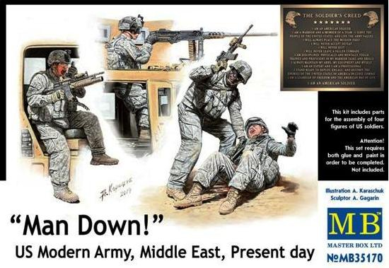 MB35170   Man Down! U.S. Modern Army, Middle east, present day (thumb18188)