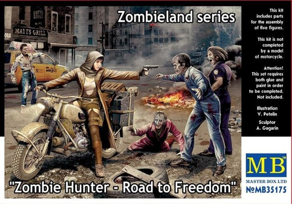 MB35175   Zombie Hunter - Road to Freedom. Zombieland series (thumb18196)