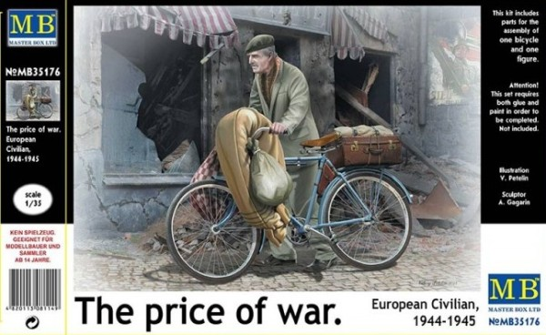 "MB35176   ""The price of war."" European civilian, 1944-1945 (thumb18198)"