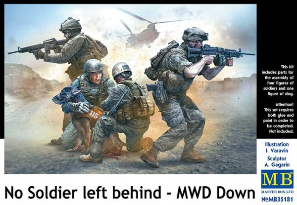 MB35181   No Soldier left behind - MWD Down (thumb18206)