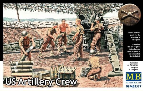 MB3577   U.S. artillery crew (thumb18076)