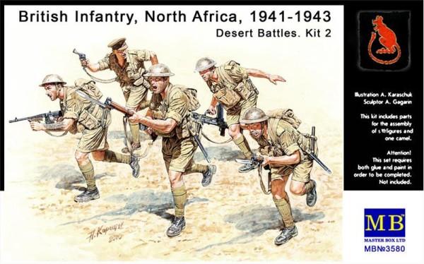 MB3580   British Infantry, North Africa, 1941-1943. Desert Battles. Kit 2 (thumb18080)