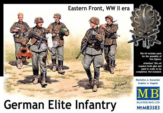 MB3583   German Elite infantry, Eastern Front, WWII era (thumb18084)