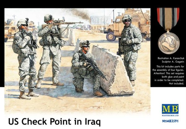 MB3591   U.S. in Iraq, Checkpoint (thumb18094)