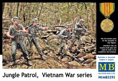MB3595   Jungle patrol, Vietnam War series (thumb18102)