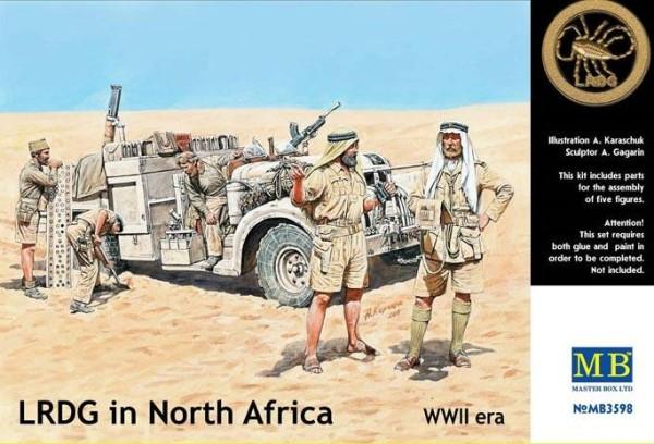 MB3598   LRDG in Northen Africa (thumb18106)