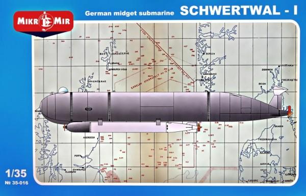 "MMir35-016     ""Schwertwal-I"" German midget submarine (thumb14672)"