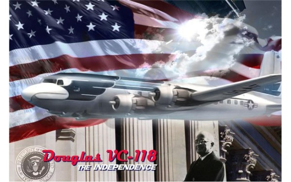 RN307   Douglas VC-118 The Independence (thumb20271)