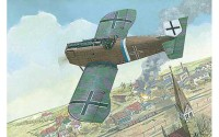 RN036   Junkers D.I WWI German fighter, late (thumb20118)