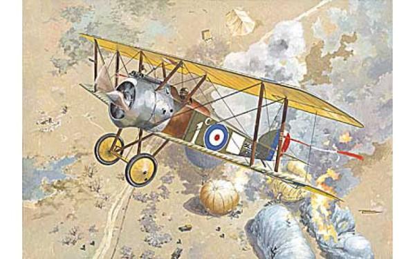 RN040   Sopwith F.1 Camel RAF fighter (thumb20140)