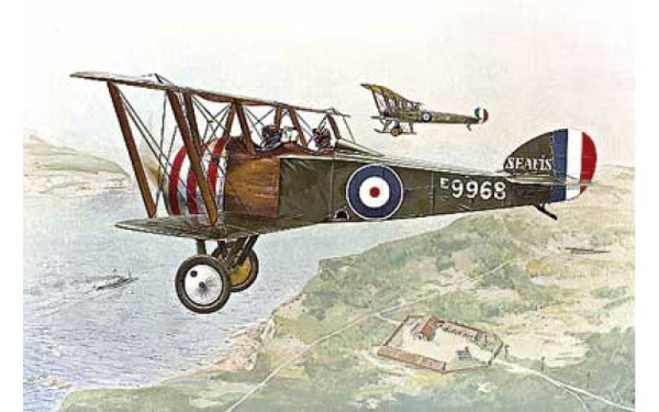 RN054   Sopwith F.1 Camel RAF two seat trainer (thumb20207)