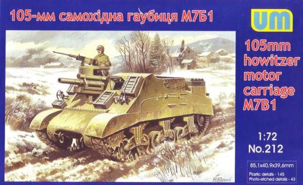 UM212   M7B1 105mm hotwizer motor carriage (thumb15743)