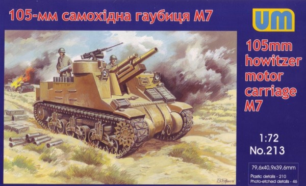 UM213   M7 105mm howitzer motor carriage (thumb15745)