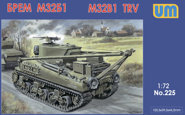 UM225   M32B1 tank recovery vehicle (thumb15759)