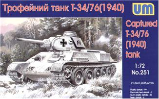 UM251   T-34-76 WW2 captured tank, 1940 (thumb15767)