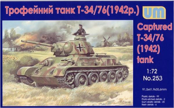 UM253   T-34-76 WW2 captured tank, 1942 (thumb15769)