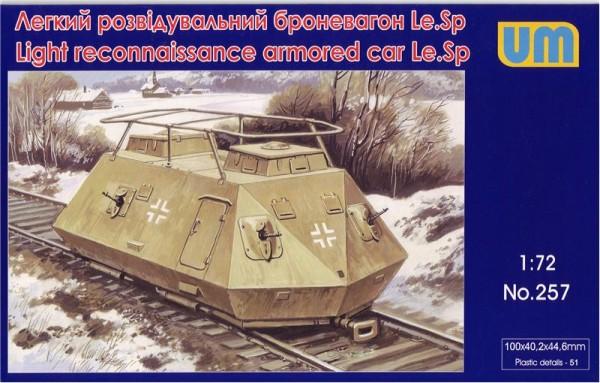 UM257   Light reconnaissance armored car Le.Sp (thumb15777)