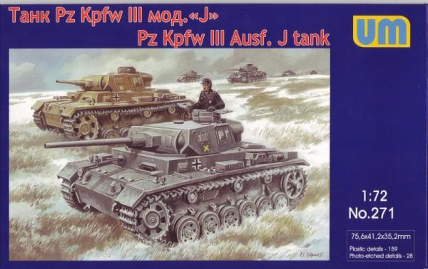 UM271   Pz.Kpfw III Ausf. J German tank (thumb15787)