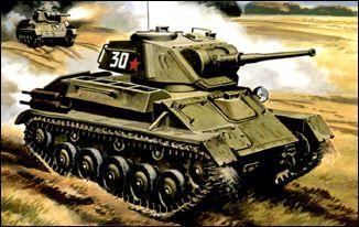 UM307   T-80 Soviet light tank (thumb15795)