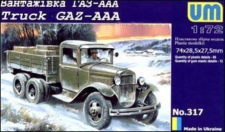 UM317   GAZ-AAA WW2 Soviet truck (thumb15801)