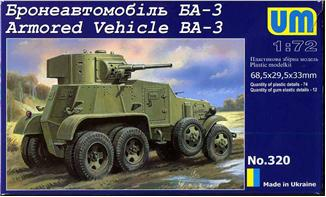 UM320   BA-3 Soviet armored vehicle (thumb15807)