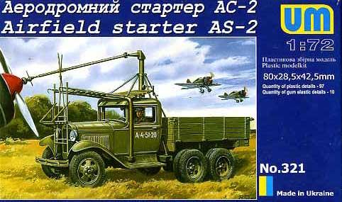 UM321   Airfield starter AS-2 on GAZ-AAA chassis (thumb15809)