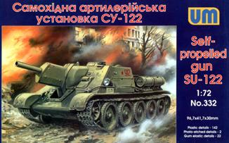 UM332   SU-122 WW2 Soviet self-propelled gun (thumb15829)