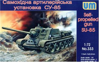UM333   SU-85 WW2 Soviet self-propelled gun (thumb15831)