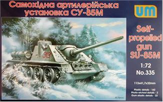 UM335   SU-85M WW2 Soviet self-propelled gun (thumb15835)
