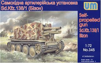 UM345   Sd.Kfz. 138/1 Bison German self-propelled gun (thumb15853)