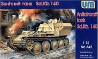 UM348   Sd.Kfz.140 WWII German antiaircraft tank (thumb15859)
