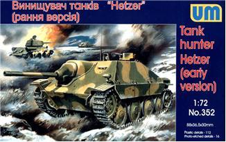 UM352   Hetzer WWII German self-propelled gun, early (thumb15867)