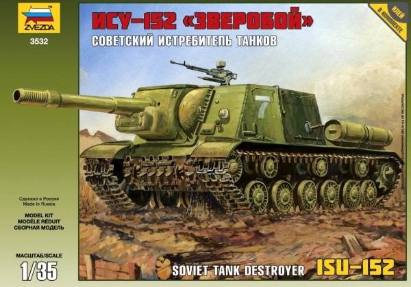 "ZV3532    Самоходка ""ИСУ-152"" (thumb18630)"