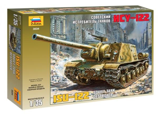ZV3534    Советский истребитель танков ИСУ-122 (thumb18634)