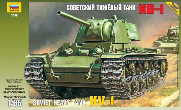 "ZV3539    Советский танк ""КВ-1"" (thumb18640)"