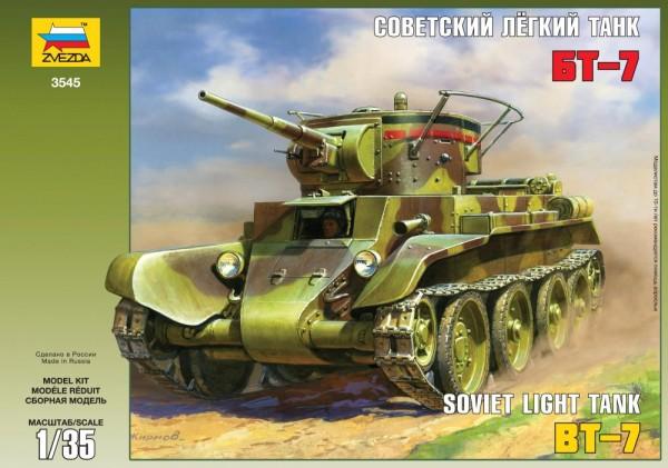 ZV3545    Советский танк БТ-7 (thumb18647)