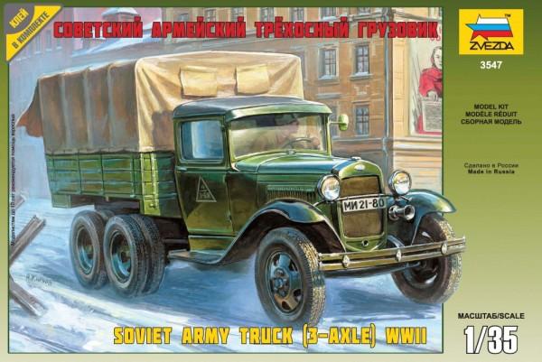 "ZV3547    Сов. трёхосный грузовик ""ГАЗ-ААА"" (thumb18649)"
