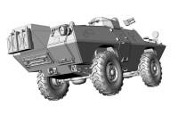 ACE72431    V-100 (XM-706 E1) Commando Car (attach6 20638)