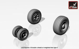 "AR AW32501b   1/32 Panavia ""Tornado"" wheels, w/ tires type 2 (attach2 17283)"